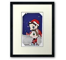 Christmas Cockles Framed Print