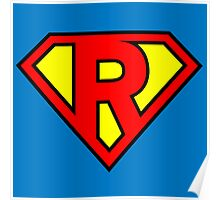 Super R Poster