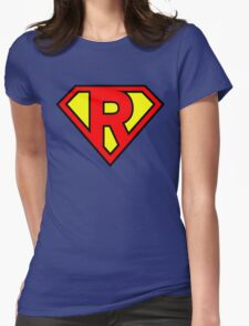 Super R Womens Fitted T-Shirt
