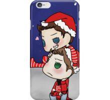 Misha Collins & Jensen Ackles - Christmas Cockles iPhone Case/Skin