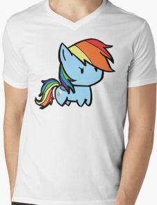 rainbow dash Mens V-Neck T-Shirt