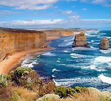 VIEW FROM THE GREAT OCEAN RD by Raoul Madden
