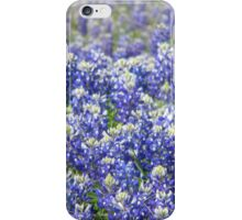 Thrilling Bluebonnet Hill iPhone Case/Skin