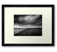 When the colours fades Framed Print