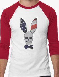 Skull Bunny Men's Baseball ¾ T-Shirt
