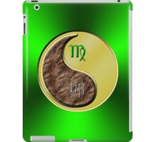 Virgo & Rabbit Yin Metal iPad Case/Skin