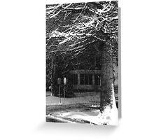Cold Corner Greeting Card