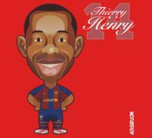 Thierry Henry t-shirt by alexsantalo