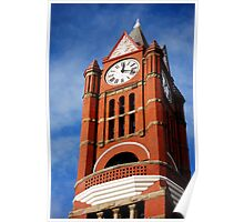 Old Clock Tower ~ Port Townsend, Washington ~ Poster