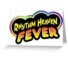 rhythm heaven fever Greeting Card