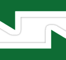 Green arrows Sticker