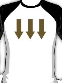 Golden arrows T-Shirt