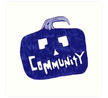 Community Halloween Art Print