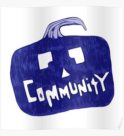 Community Halloween Poster