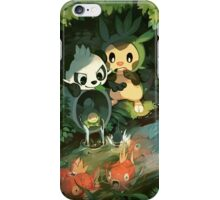Chespin & Pancham iPhone Case/Skin