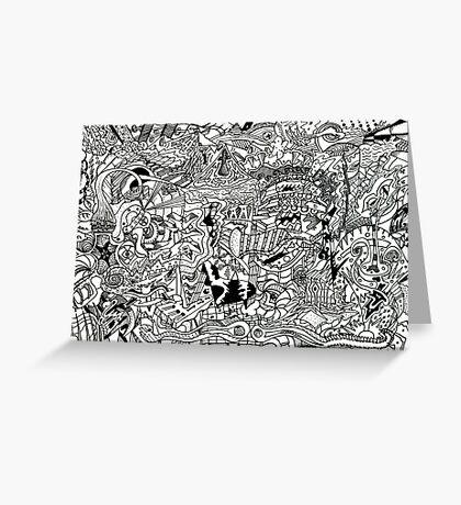 Intricacy Greeting Card