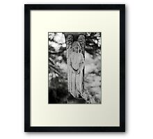 Temple Hill Angel Framed Print