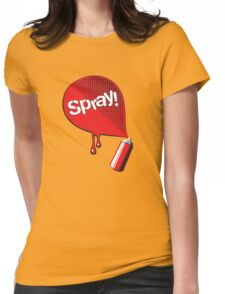 Spray! Womens Fitted T-Shirt
