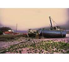 walney boat Photographic Print