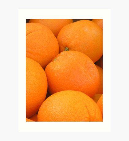 naval oranges Art Print