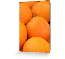naval oranges Greeting Card