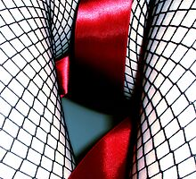 Red Ribbon Girl by Susana Diaz