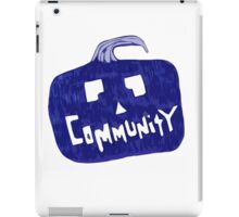 Community Halloween iPad Case/Skin