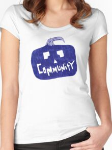 Community Halloween Women's Fitted Scoop T-Shirt