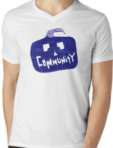 Community Halloween Mens V-Neck T-Shirt