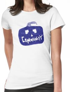 Community Halloween Womens Fitted T-Shirt