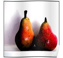 Pears - Still Life 1 Poster