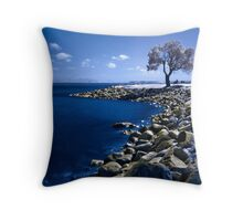Beautiful Calm Sunday Throw Pillow
