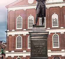 Samuel Adams Statue Boston by KrysM