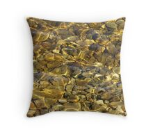 Cool Clear Water Throw Pillow