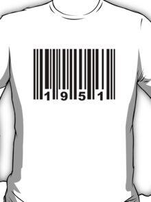 Barcode 1951 T-Shirt