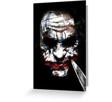 The Killing Joker Greeting Card