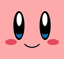 Kirby Face by LinearStudios