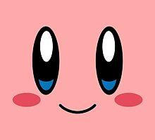 Kirby Face by LinearStudios