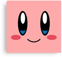 Kirby Face Canvas Print