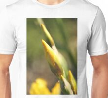 Yellow Iris Buds Unisex T-Shirt