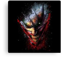 Joker Canvas Print