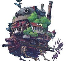 Howl's Moving Castle by DanielleIsBatma