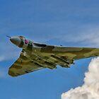 Avro Vulcan B.2 XH558 G-VLCN flypast by Colin Smedley