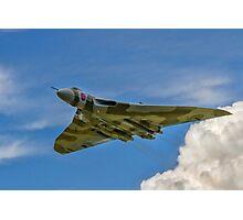 Avro Vulcan B.2 XH558 G-VLCN flypast Photographic Print