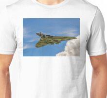 Avro Vulcan B.2 XH558 G-VLCN flypast Unisex T-Shirt