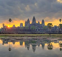 Angkor Wat Dawn by WorldImages