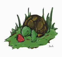 Turtle loves Strawberries  Kids Clothes