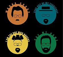 Breaking Bad - The Change of Walt by jackallum