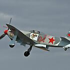 Yak 9 at Take Off by wolfcat