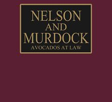 NELSON AND MURDOCK AVOCADOS AT LAW Unisex T-Shirt
